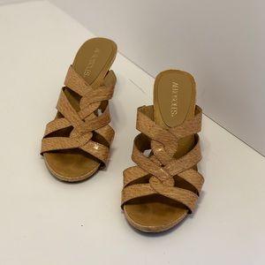 Aerosoles— Nude Leather Sandals (7)